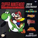 Super Nintendo Entertainment System 2019 Calendar