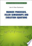 Markov Processes Feller Semigroups And Evolution Equations