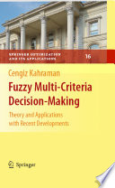 Fuzzy Multi Criteria Decision Making
