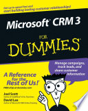 Microsoft CRM 3 For Dummies