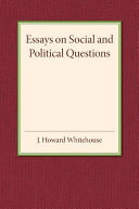 Essays on Social and Political Questions