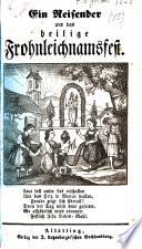 Ein Reisender und das heilige Frohnleichnamsfest