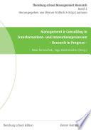 Management & Consulting in Transformations- und Innovationsprozessen