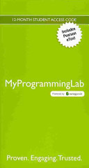 MyProgrammingLab with Pearson EText    Access Code Card    for Starting Out with Visual Basic