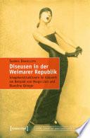 Diseusen in der Weimarer Republik