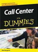 Call Center für Dummies
