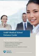 SAPR Medical School Entrance Guide (2018-19)