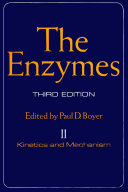 The Enzymes Kinetics And Mechanism book