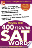 McGraw Hill s 400 Essential SAT Words