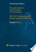 Neurophysiologische Untersuchungen in der Psychiatrie
