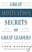 Great Motivation Secrets of Great Leaders  POD