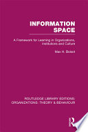 Information Space  RLE  Organizations