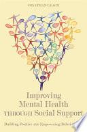 Improving Mental Health through Social Support