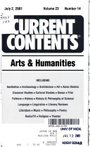 Book Current Contents