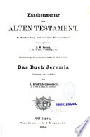 Das Buch Jeremia