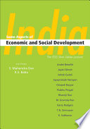 India  Some Aspects of Economic and Social Development