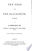 The Peer And The Blacksmith A Tale With Illustrations