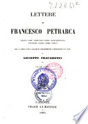 Lettere di Francesco Petrarca