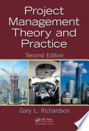 Project Management Theory and Practice  Second Edition