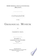 Catalogue of the Geological Museum: Collections of rock specimens, nos. 8975-12872