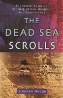 . The Dead Sea Scrolls .