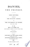 Daniel the prophet  9 lectures  with notes