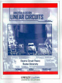 The Analysis & Design of Linear Circuits