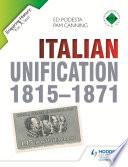Enquiring History  Italian Unification 1815 1871