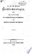 D. H. L. W. Völkers Forsttechnologie