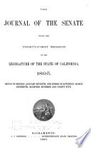 Journals of the Legislature of the State of California Book PDF