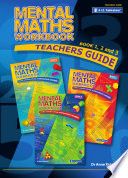Mental Maths Workbook  Teachers Guide  Book 1  2 and 3