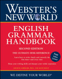 Webster s New World English Grammar Handbook