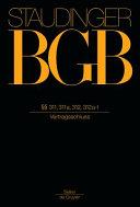 Staudinger BGB