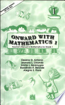 Ebook Onward with Mathematics 1 Teacher's Manual1st Ed. 1999 Epub N.A Apps Read Mobile