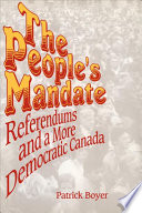 The People S Mandate book