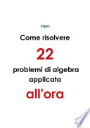 Come risolvere 22 problemi di algebra applicata all ora