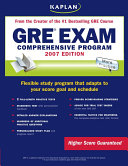 Kaplan GRE Exam  2007 Edition  Comprehensive Program