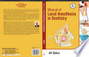 Manual Of Local Anaesthesia In Dentistry book