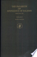 The Panarion Of Ephiphanius Of Salamis