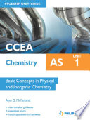 CCEA Chemistry AS Student Unit Guide  Unit 1 Basic Concepts in Physical and Organic Chemistry ePub