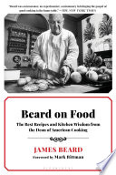 Book Beard on Food