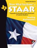 SWYK on STAAR Reading Math Gr  3  Student Workbook