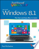 Teach Yourself Visually Windows 8 1