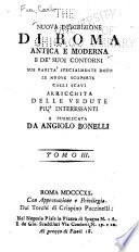 Nuova descrizione di Roma antica e moderna e de' suoi contorni