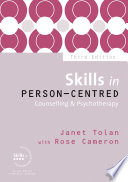 Skills in Person Centred Counselling   Psychotherapy