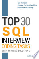 Top 30 Sql Interview Coding Tasks