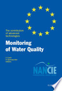 Monitoring Of Water Quality book