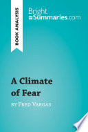 A Climate of Fear by Fred Vargas  Book Analysis