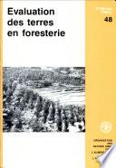 Evaluation des terres en foresterie