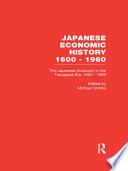 Ebook The Japanese Economy in the Tokugawa Era, 1600-1868 Epub Michael Smitka Apps Read Mobile